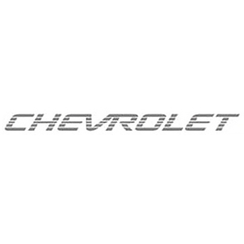 Emblema Chevrolet Preta S10 - Chevette - Pick-up Corsa - New