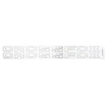 Faixa Lateral Grafite Crossfox - Decal Line - Pc - volksw