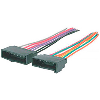 Conector 14 Vias P/linha Ford Universal - Null - Pc - uni