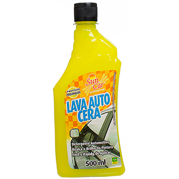Lava Auto Cera 500ml Universal - Sun Car - Pc - universal