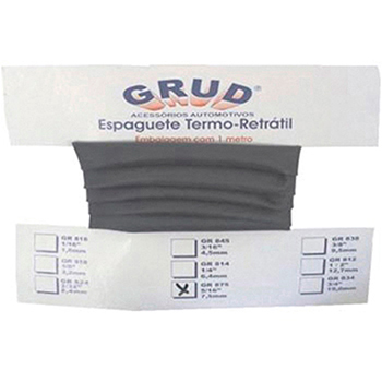 Espaguete Termo Retrátil Anti-chama 1/8 (3,2mm X 1m) Univers