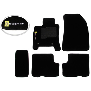 Tapete Carpete Preto Duster - Flash - Jg - renault - Dust